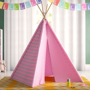 Purchase Kadin Chevron & Dots Kid Play Teepee with Carrying Bag By Viv + Rae