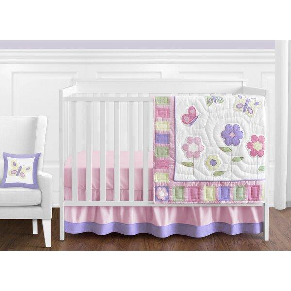 Butterfly 11 Piece Crib Bedding Set By Sweet Jojo Designs.