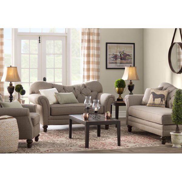 Chess Configurable Living Room Set by Darby Home Co