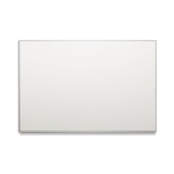 BTS Trim No Maprail Blade Tray Wall Mounted Magnetic Whiteboard by Platinum Visual Systems