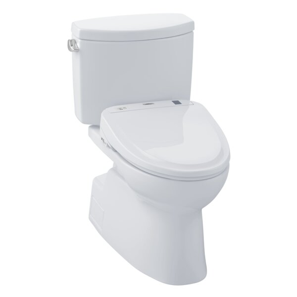Vespin® II 1.28 GPF Elongated Two-Piece Toilet by Toto