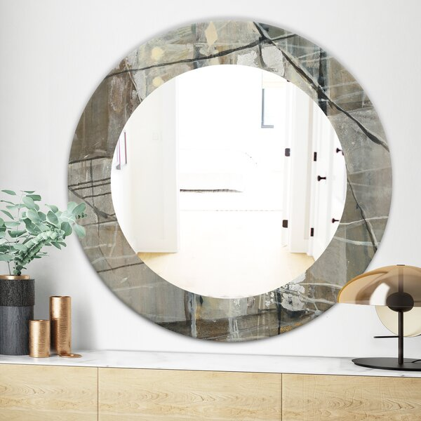 Geometric Composition Modern and Contemporary Wall Mirror