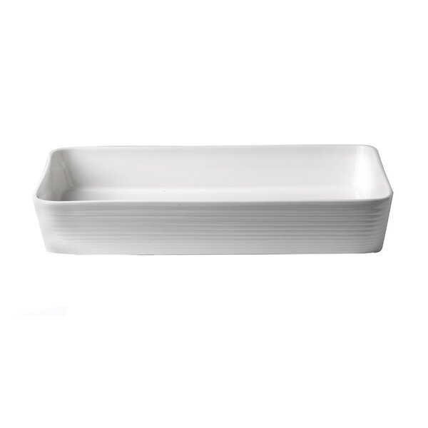 Oven-to-Table Bakeware 4 Qt. Rectangular Roaster by Gordon Ramsay by Royal Doulton