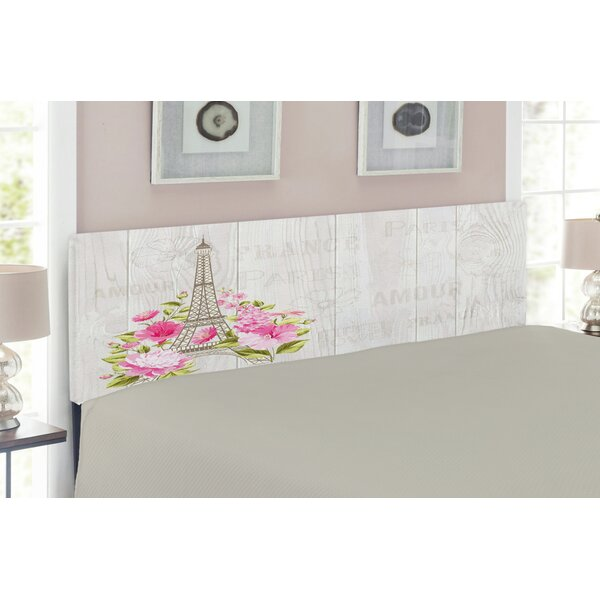 Eiffel Upholstered Panel Headboard by East Urban Home