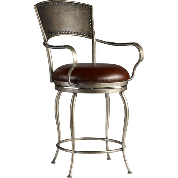 25.25 Swivel Bar Stool by Hooker Furniture