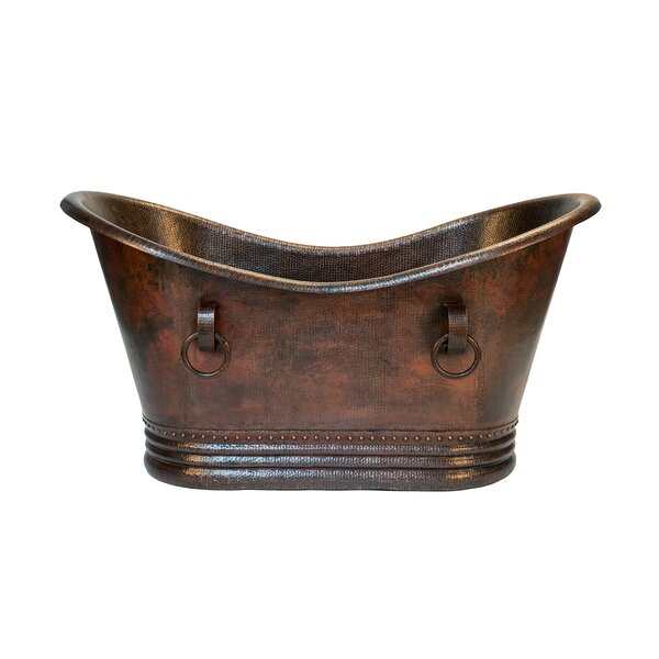 Double 60 x 32 Freestanding Soaking by Premier Copper Products