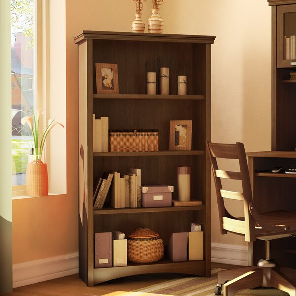 Ellenburg Standard Bookcase By Three Posts