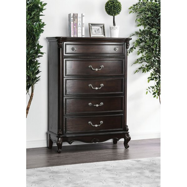 Gottlieb 5 Drawer Chest by Astoria Grand