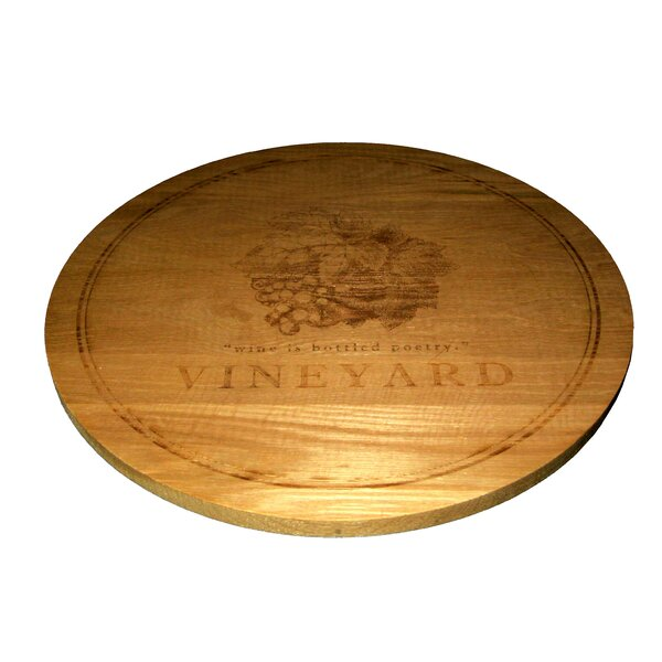 Round Solid Pine Lazy Susan by Homestyle Collection