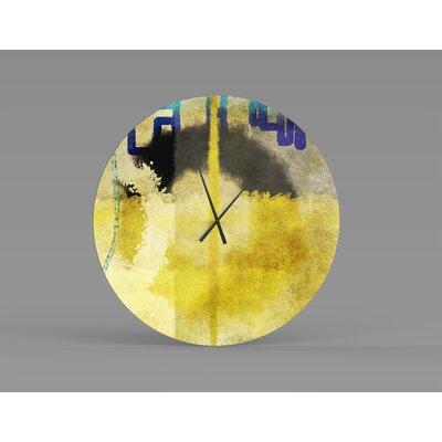 Orren Ellis Oversized Shamsh Wall Clock X111369430 Size Small Shefinds