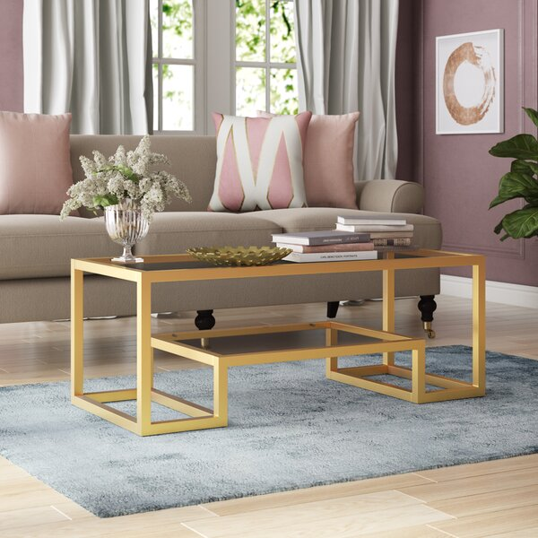 Review Imel Frame Coffee Table