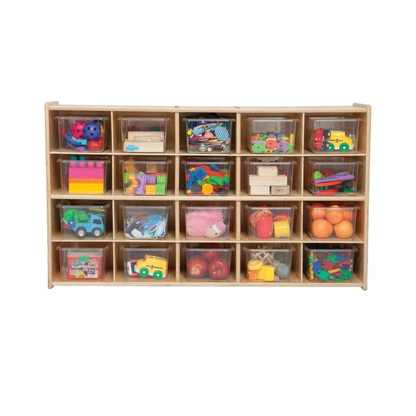 Clarendon 20 Compartment Cubby by Symple Stuff