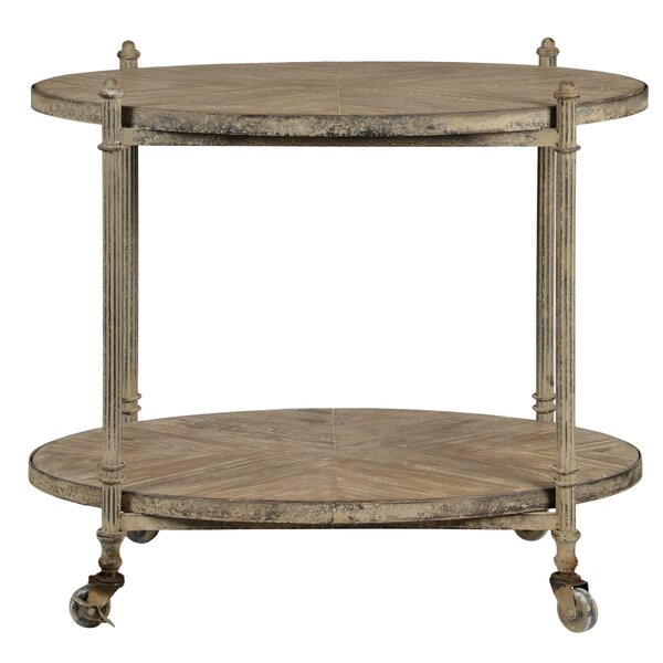 Dobson Bar Cart by Feminine French Country Feminine French Country