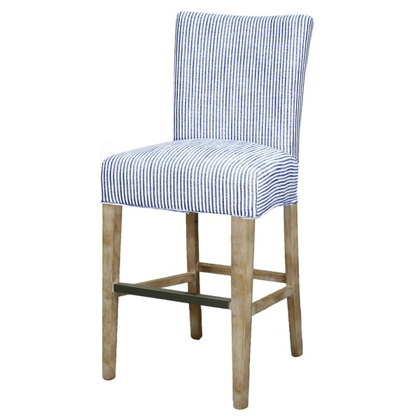 Ginevra 29.5 Bar Stool by Breakwater Bay