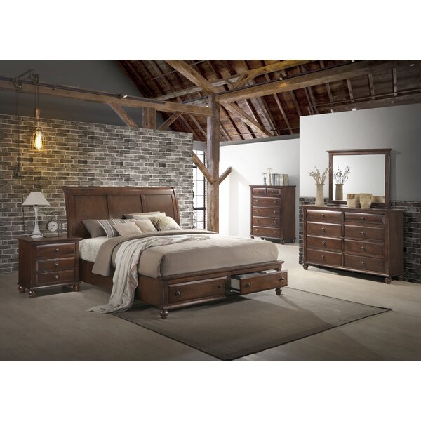 Lehigh 4 Piece Bedroom Set by Darby Home Co