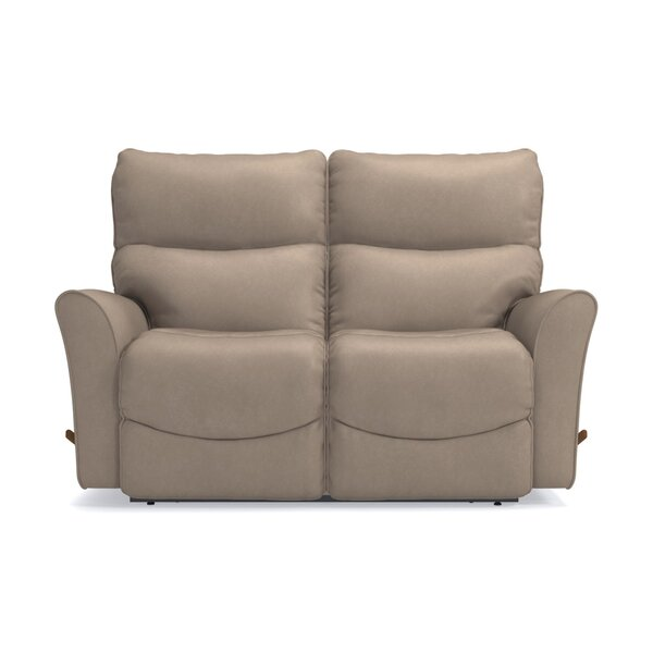Rowan Leather Reclining Loveseat by La-Z-Boy