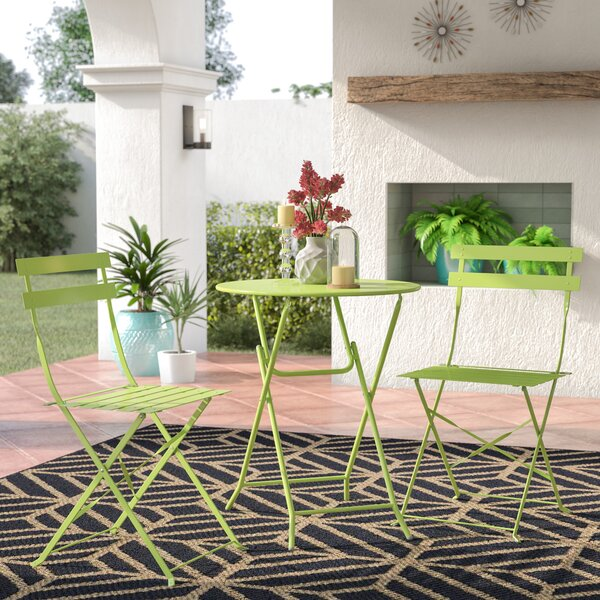 Talty 3 Piece Bistro Set by Ebern Designs