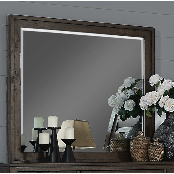 Rodriquez Rectangular Dresser Mirror by Union Rustic