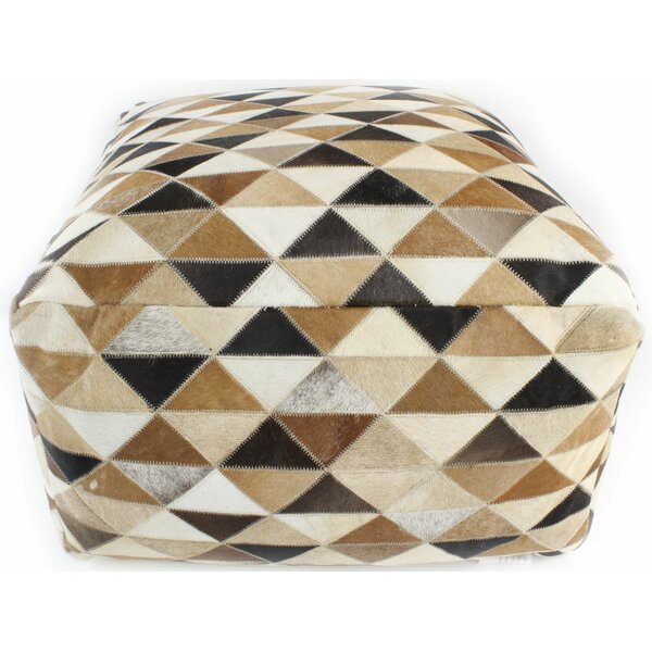 Mayfair Pouf by Bashian Rugs