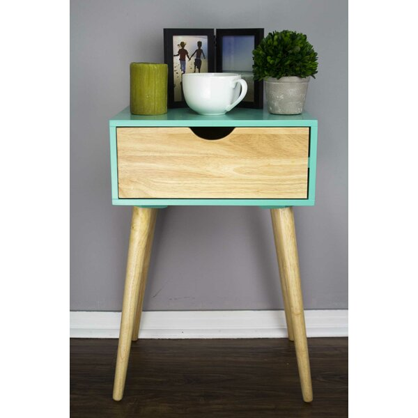 Charlee End Table With Storage By George Oliver