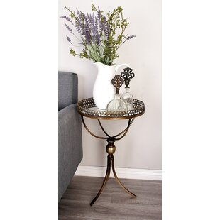 Order Metal and Mirror Tray End Table By Cole & Grey