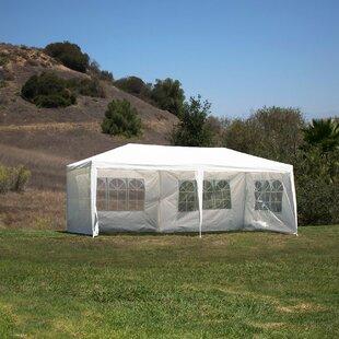 10 Ft. W x 20 Ft. D Steel Party Tent & Outdoor Party Tents | Wayfair