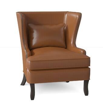 Egg Chair Rotan.Rotan Wingback Chair Reviews Birch Lane