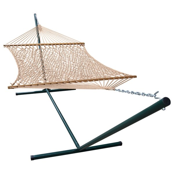 Mindi Polyester Hammock with Stand by Red Barrel Studio