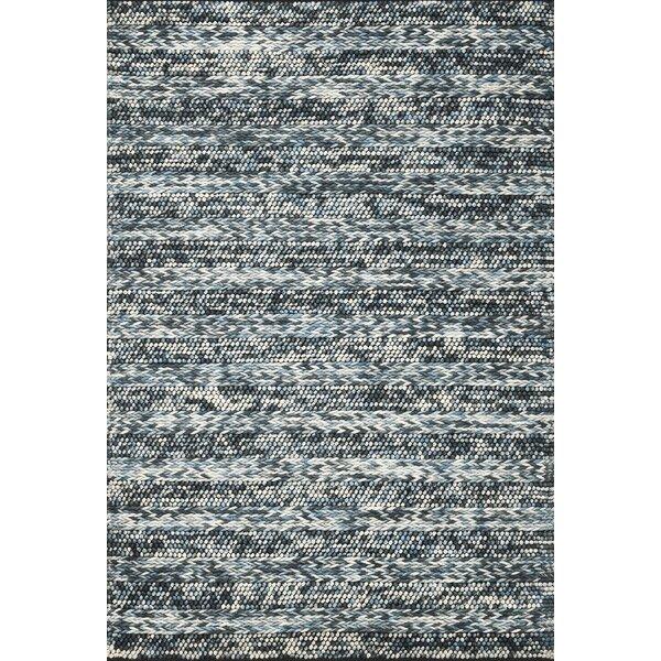 Ambridge Hand-Woven Wool Azure Area Rug by Wade Logan