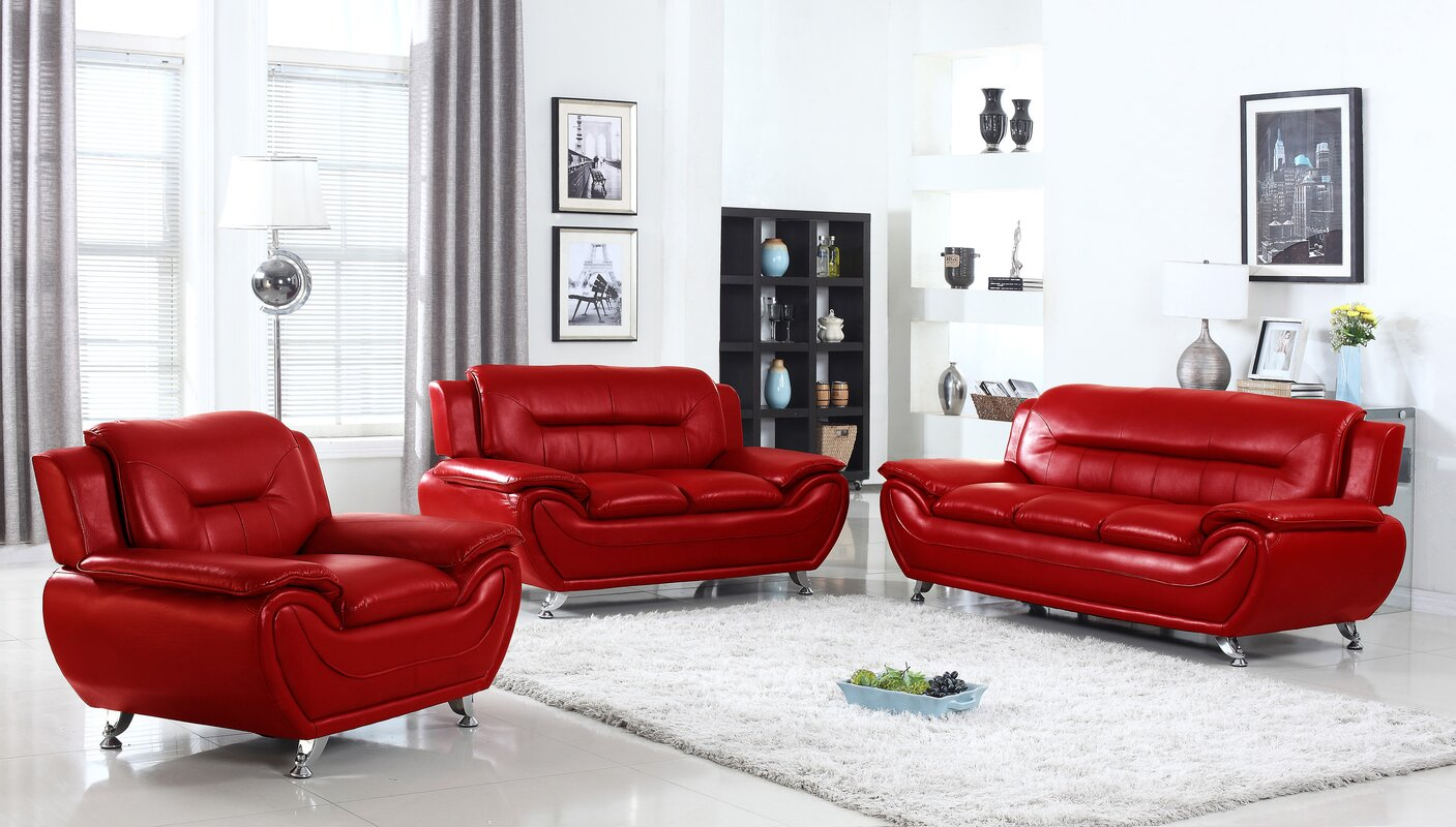 Sather 3 Piece Living Room Set Part 69