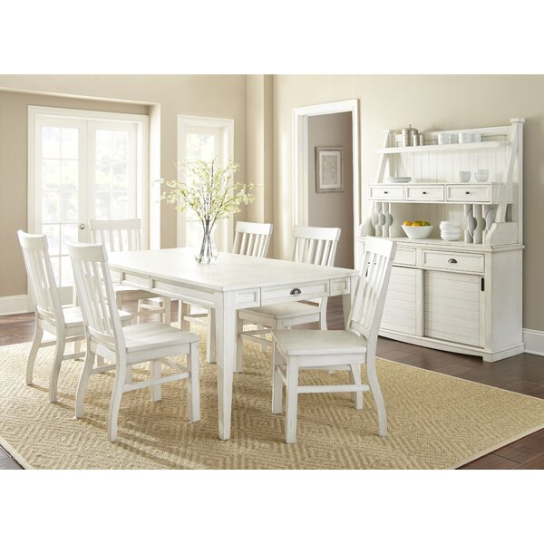 Duclos 7 Piece Dining Set by Highland Dunes