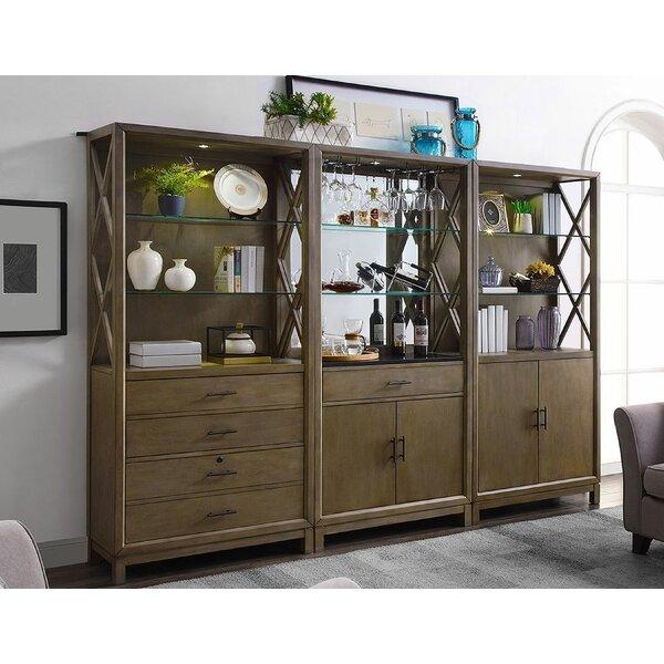 Somoa 3 Piece Standard Bookcase Set By Gracie Oaks