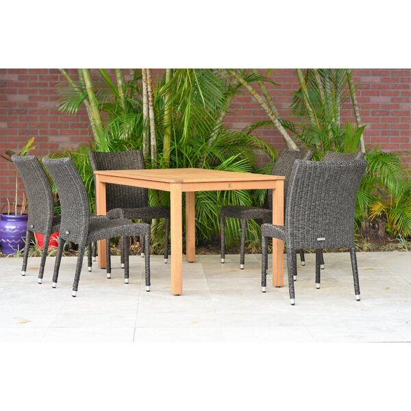 Siebert 7 Piece Dining Set (Set of 7) by Brayden Studio