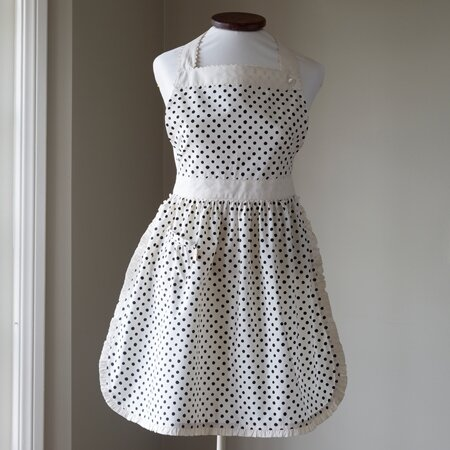 Polka Dot Children Apron by Taylor Linens