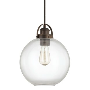 Compare & Buy Caster 1-Light Pendant By Wrought Studio