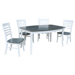 5 Piece Extendable Solid Wood Dining Set By Birch Lane™
