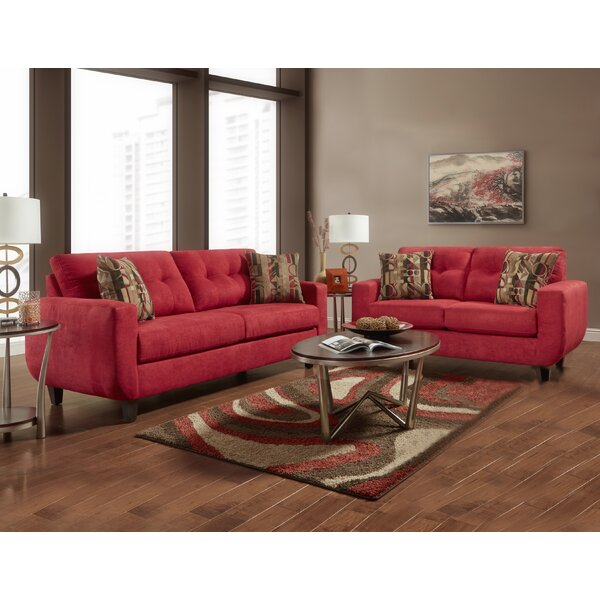 Stalter Tufted 2 Piece Living Room Set by Millwood Pines
