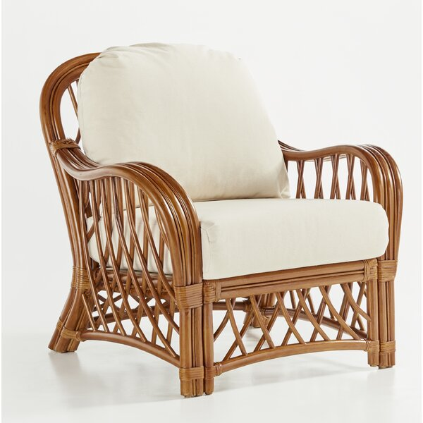 Sanders Wicker Armchair by Bayou Breeze Bayou Breeze