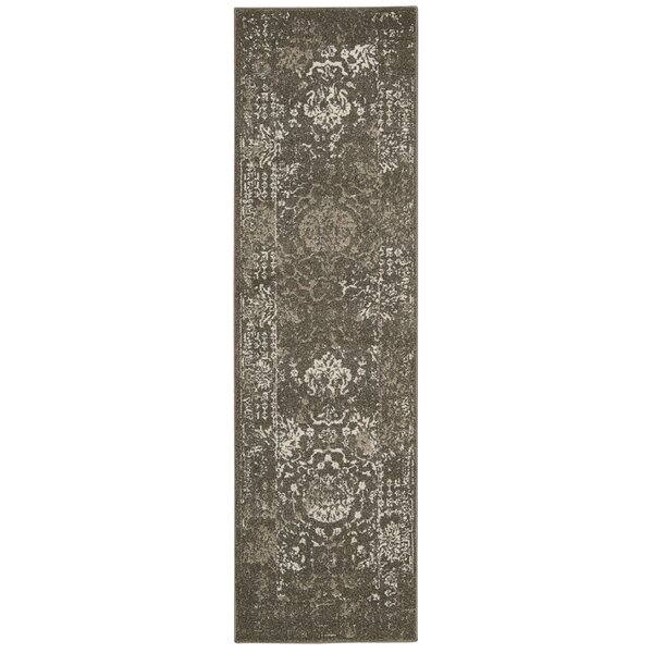 Salaam Gray Area Rug by Bungalow Rose