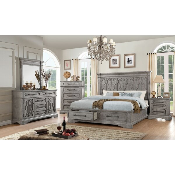 #2 Freya Storage Platform Configurable Bedroom Set By One Allium Way Purchase