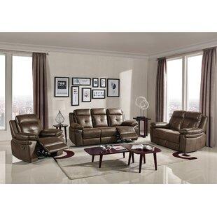 Barrand 3 Piece Reclining Living Room Set by Latitude Run®