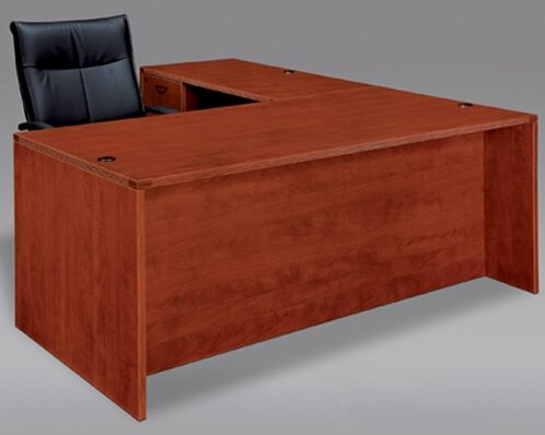 Fairplex Right / Left L-Shape Executive Desk by Flexsteel Contract