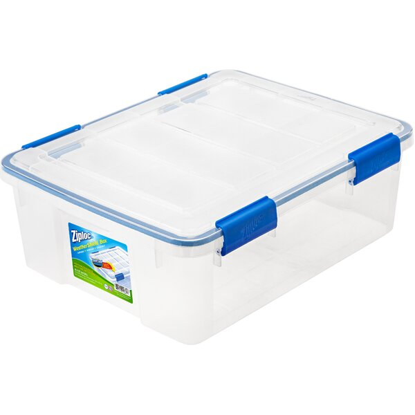 WeatherShield Storage Box (Set of 4) by Ziploc®