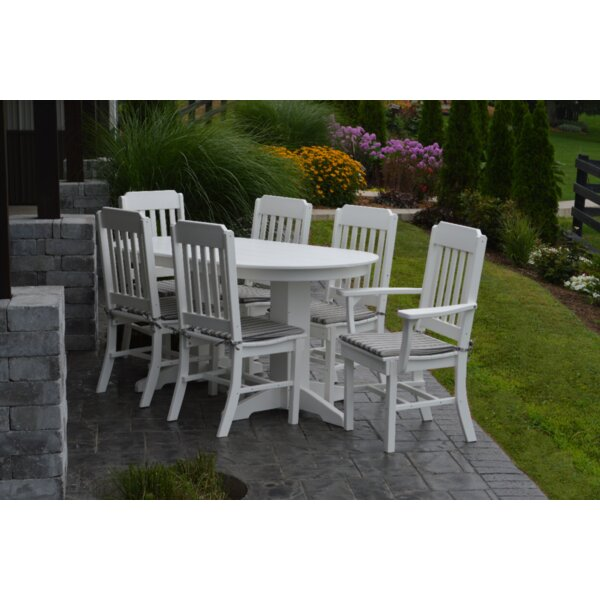 Nettie 7 Piece Dining Set by Red Barrel Studio