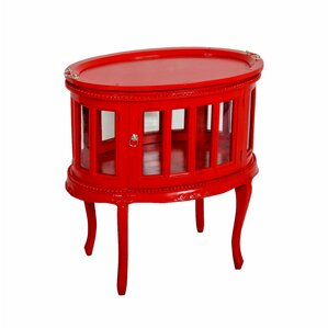 Tahoma Oval End Table by Jeffan
