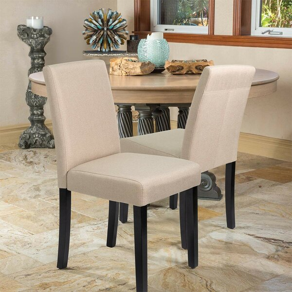 Great Price Fellsburg Upholstered Dining Chair (Set of 4) by Latitude Run