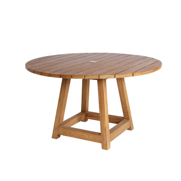 Strange Teak Dining Table by Loon Peak