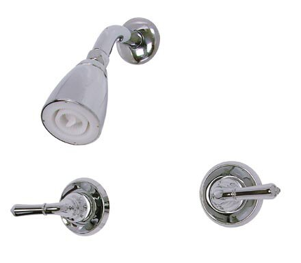 Magellan Diverter Tub Shower Faucet with Metal Lever Handles by Elements of Design
