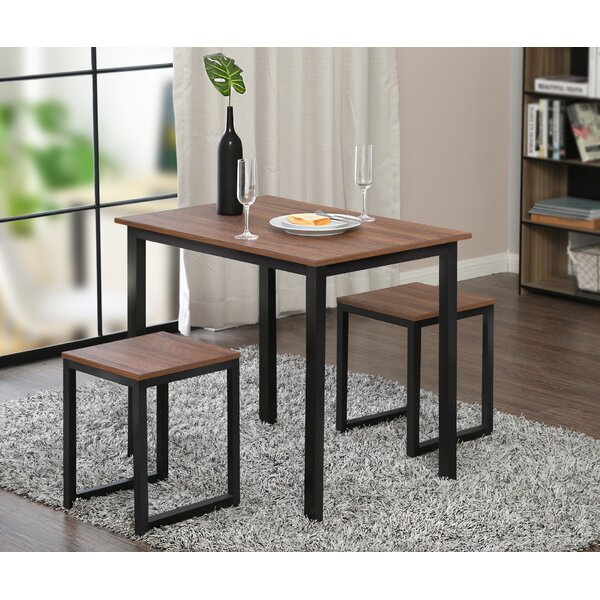 Ferrara 3 Piece Dining Set by Union Rustic Union Rustic