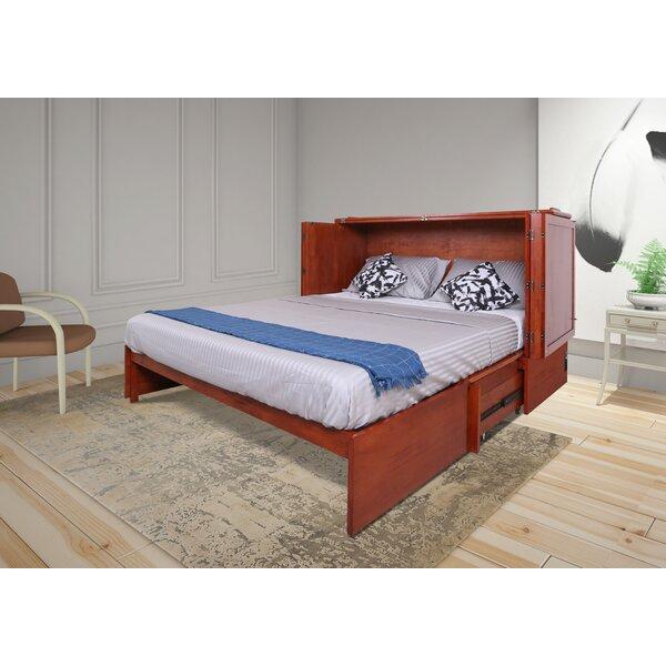 Kaneshiro Queen Storage Murphy Bed with Mattress by Red Barrel Studio